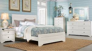 Belcourt White 5 Pc Queen Panel Bedroom Queen Bedroom Sets White