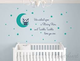 Owl Bedroom Wall Stickers by Owl Wall Decal Nursery Wall Decals Owl Vinyl Decals Owl Nursery