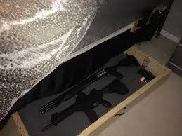 Under Bed Gun Storage Security Options — Jason Storage Bed