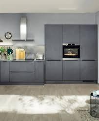 cuisine gris ardoise modèle de cuisine mineral ixina