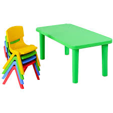 100 Playskool Plastic Table And Chairs Costway Costway Kids And 4 Set Colorful Play