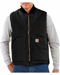 100 V01 Details About Carhartt Mens Big Tall Duck Vest Arctic Quilt Lined