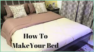 How To Make A Bed How To Put A Bed Sheet A Bed