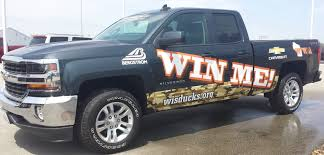 100 Win Truck Me WWA Wisconsin Waterfowl Association