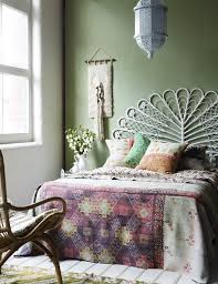 Chic Bohemian Bedroom Designs Ideas With Nice Simple Chair