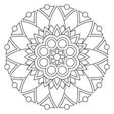 Mandala Coloring Pages Free Printable