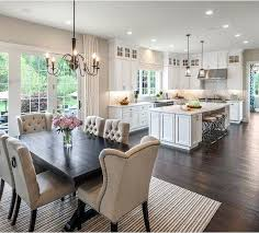 Kitchen Dining Room Curtain Ideas Luxury Love The Space Ideal