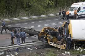 100 Dump Truck Crash The Latest Crews Move School Bus Wrecked In Deadly Crash WTOP
