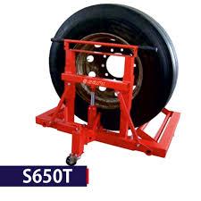 100 Truck Tire Changer Fleet Turntable Tyre Machine Tyre Tyre