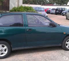 voiture occasion citadine seat ibiza verte 3 portes essence 1996