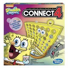 Spongebob Bathroom Decor Walmart by Nickelodeon Spongebob Squarepants Connect Four Walmart Com