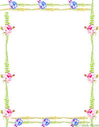 Flower Border Design Ideas Awesome Pin Free Printable Spring Yellow Flowers Writing Of