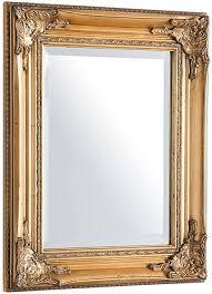 invicta interior filigraner rockbarock spiegel speculum gold 55x45cm wandspiegel badezimmerspiegel badspiegel barock