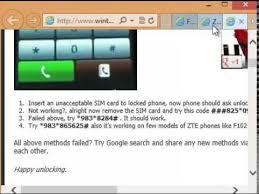 How to Unlock Sim free ZTE Warp Boost Mobile  Free