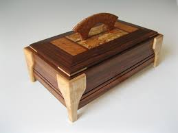 Handmade Artistic Wooden Boxes For Jewelry Keepsakes And More