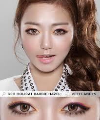 cat contacts buy geo holicat cat hazel colored contacts eyecandys