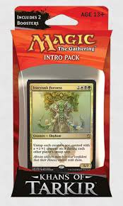 khans of tarkir intro pack decklists magic the gathering