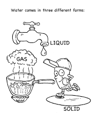 Download Coloring Pages Water Cycle Page Chuckbutt Drawing