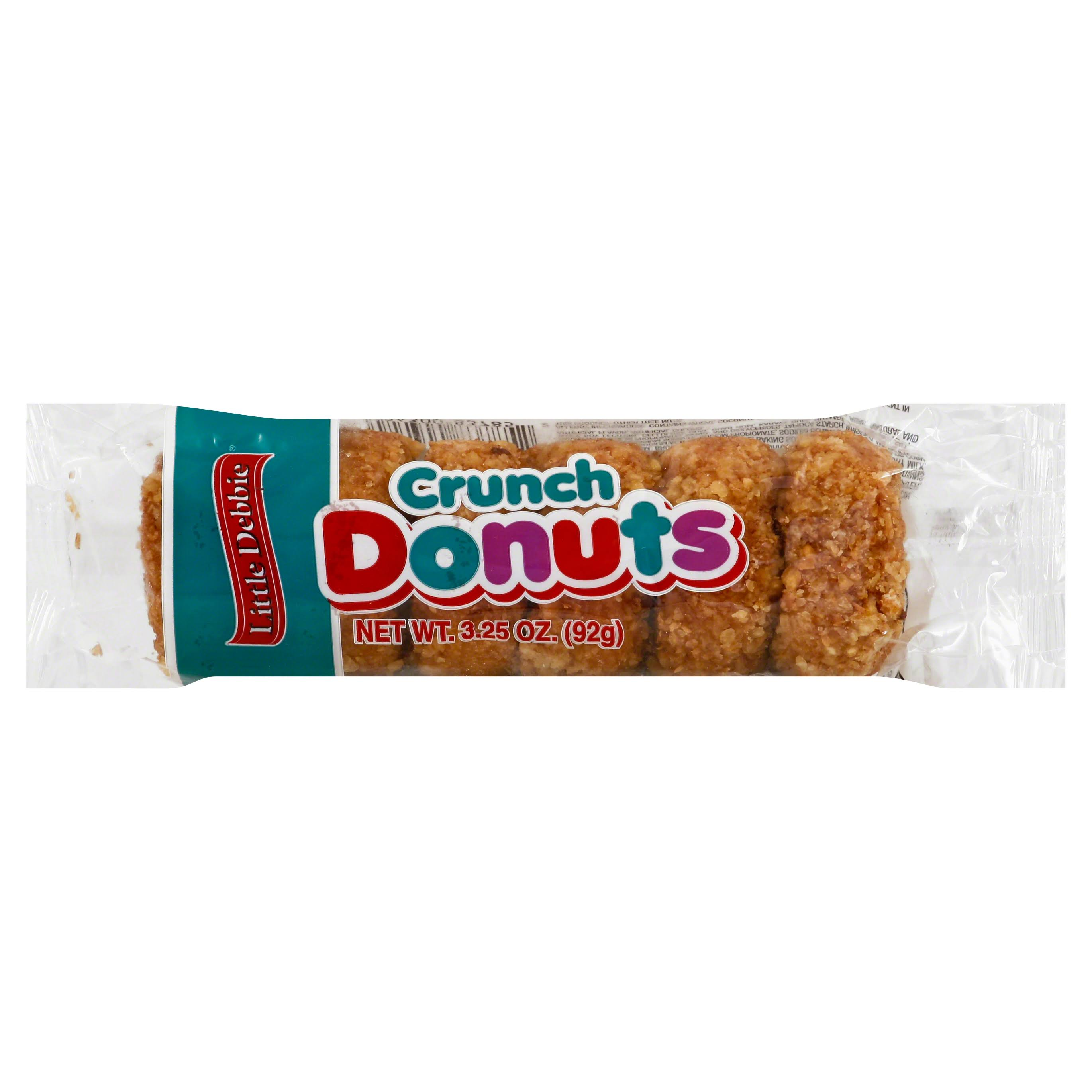 Little Debbie Snacks Coconut Crunch Donuts - 6ct