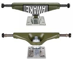 100 Venture Skateboard Trucks VENTURE 525 High Motto Army Green 80 Wide