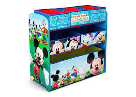 Mickey Mouse Clubhouse Toddler Bed by Mickey Mouse Multi Bin Toy Organizer Delta Children U0027s Products