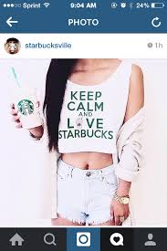 KEEP CALM AND LOVE STARBUCKS On The Hunt