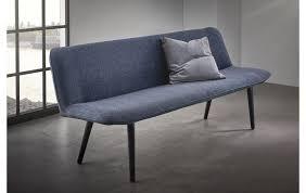 gepolsterte sitzbank contur urbino in stoff blau 71869700002