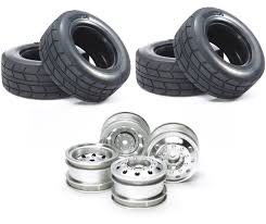 Tamiya - Racing Truck - Wheel Set - 4x Rims + 4 Tires - RC-KleinKram ... Overland Truck Rims By Black Rhino 20x9 Wheel Fits Ford 4play Striker Machined Custom Rim 6 Fding The Best Off Road Wheels For Your Houston Heavy Duty Front Rear Stock Vector Royalty Free Fuel Offroad Sprocket Roku Siwinder Flow D587 8lug Gloss Milled