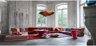 canapes roche et bobois canapé modulable contemporain en tissu 7 places et plus