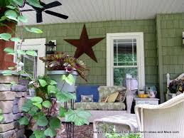 Decorative Star On Annas Craftsman Style Porch