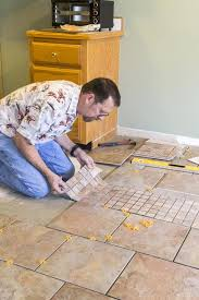 ceramic or tile floor layout