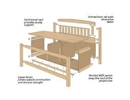 Free Simple Storage Bench Plans by Storage Bench Plans Woodworking With Innovative Style Egorlin Com