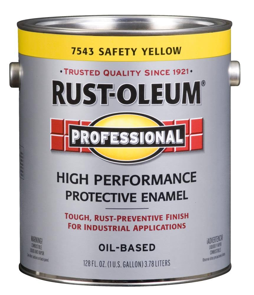 Rust-Oleum Professional High Performance Oil Based Enamel - Safety Yellow