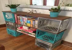 Attractive Wooden Milk Crate Storage DIY Wood Wine Ideas And Projects Rustic Shelves