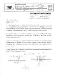Modelo De Carta De Presentación 04 U2026 CV Gian Resumu2026