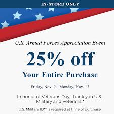 U.S. Military And Veterans: Bed, Bath & Beyond 25% OFF Entire ... Wedding Registry Bed Bath Beyond Discount Code For Skate Hut Bath And Beyond Croscill Black Friday 2019 Ad Sale Blackerfridaycom This Hack Can Save You Money At Wikibuy 17 Shopping Secrets Big Savings Rakuten Blog 9 Ways To Save Money The Motley Fool Nokia Body Composition Wifi Scale 5999 After 20 Off 75 Coupons How Living On Cheap Latest July Coupon Codes 50 Huffpost