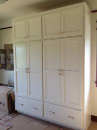 Pantry Cabinet Shelving Ideas by Pantry Cabinet Food Cabinets Pantry With Can Organizer Rack