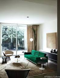 Green Slipcover Velvet Sofa Cover Modern Apple Chair