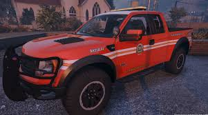 100 Fire Brush Truck Updated 4K Los Santos Department Search Rescue