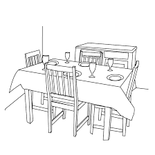 Kids Pages Dining Room