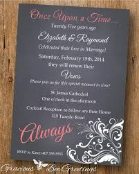 Get Everyone Together To Celebrate With You By Sending This Vow Renewal Invitation A Rustic Wood And Floral Design