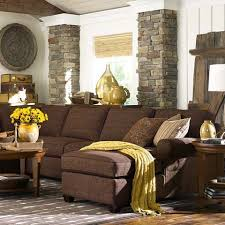 Brown Furniture Living Room Ideas by Best 25 Chocolate Brown Couch Ideas On Pinterest Living Room