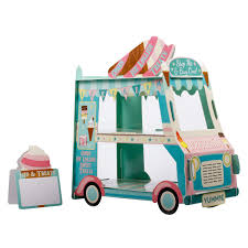 100 Ice Cream Truck Party Amazoncom 3 Tier Cake Stand Decorations Bus