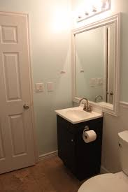 Paint Color For Bathroom With Almond Fixtures by Modern Bathroom Remodel With Floor To Ceiling Tile