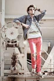 Vintage Denimjacket Pinkdistressjeans Denim Jackets Outfits For Men 17 Ways To Wear