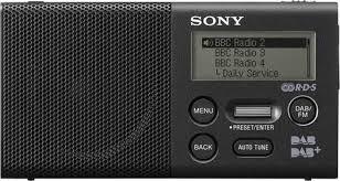 fonction le de poche de poche dab sony xdr p1dbp fonction de charge de la batterie