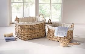 füllkorb rattan 2er set wohnaccessoires badezimmer