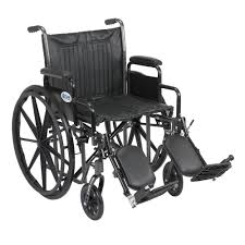Transport Chair Walmart Canada by Drive Lightweight Transport Wheelchair In Silver With 19 In Seat