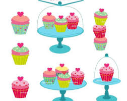 table cupcake clipart