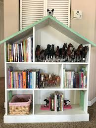 Girls Dollhouse Bookcase Pottery Barn Kids Dollhouse Bookcase